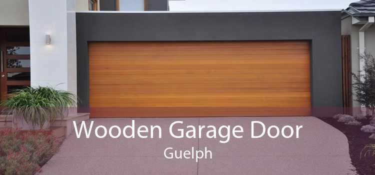 Wooden Garage Door Guelph